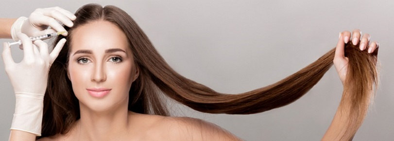 Mesotherapy of hair, фото